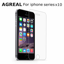 Buy 10pcs/lot New Ultra Thin 0.3mm Anti-shatter Tempered Glass iPhone 6 6s 7 6 plus 6s 7 plus 5 5s 5C 4 4s Screen Protector Film for $5.09 in AliExpress store