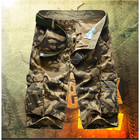 Big Size 29-42 Army Green Military mma shorts men Casual Cotton loose Short Cargo Khaki Without Belt A1208