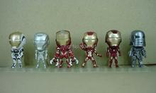 Buy 6pcs Hot Classic New Iron Man / Tony Stark Marvel Avengers Super Hero 9cm Action Figure Pendant Toys for $27.46 in AliExpress store