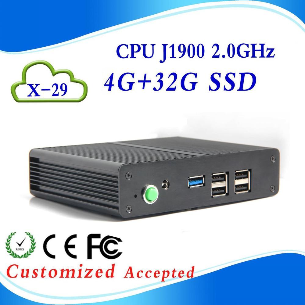 High Performance X26Y C1037U Fanless 1.8G HZ 4G RAM+16G SSD mini computer windows xp linux arm mini computer  mini computer<br><br>Aliexpress