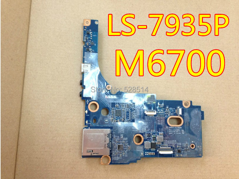 wholesale ls-7935p board for dell m6700 usb board 100% tested 45 days warranty