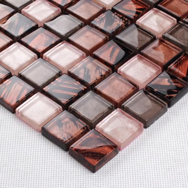 Red glass tile backsplash   compra lotes baratos de red glass tile ...