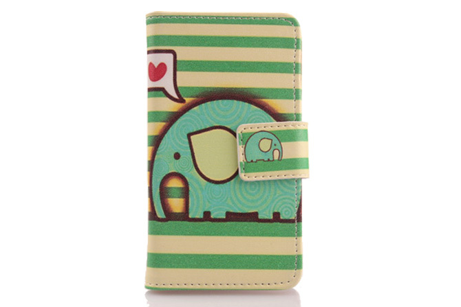1pcs Book Style Mobile Phone Protector Cover Case For LG L65 Dual D285 PU Leather Wallet Pouch With Card Holder(China (Mainland))