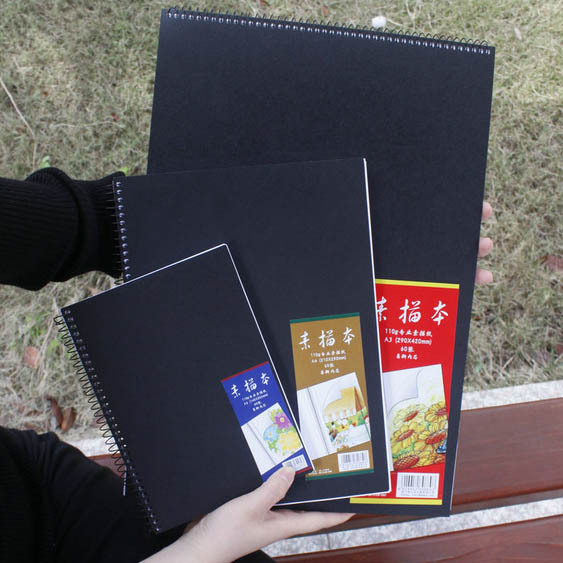 Wholesale Sketchbook Diary A4 A3 A5 sketchbook For Drawing Graffiti sketch book Office School Supplies wholesale(China (Mainland))