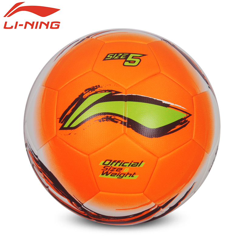 original lining AFQK567/569Match Training soccer Balls Football Ball Official Size 5 High Quality PVC Soccer Ball Stitch soccer(China (Mainland))