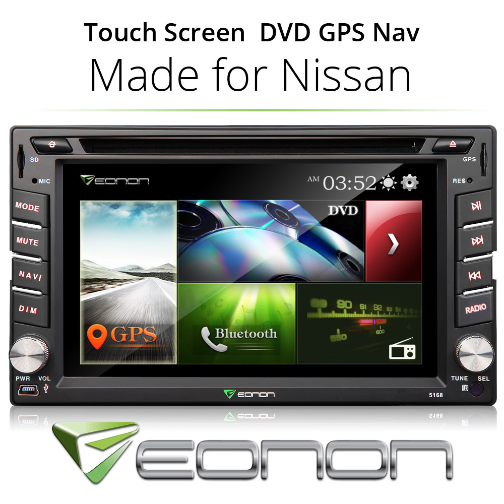 Eonon Car DVD Player For Nissan GPS Radio System SD Touch Screen USB Bluetooth(China (Mainland))