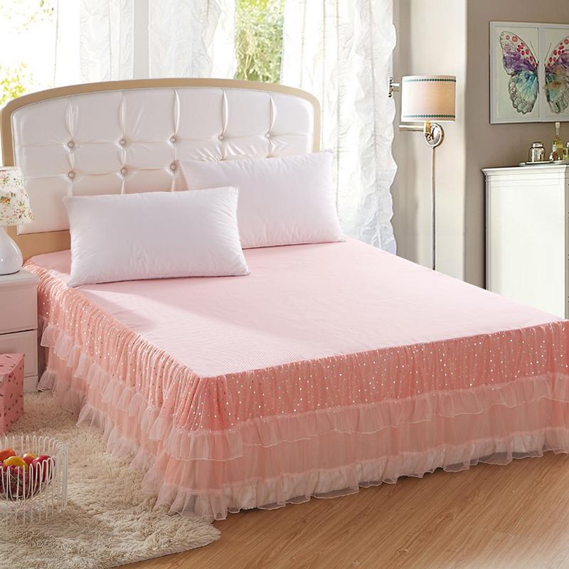 Pink Queen Bed Skirt 79