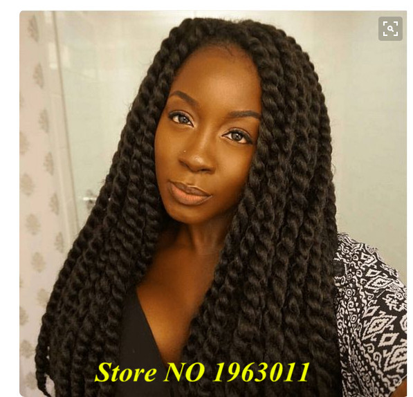Crochet Braids Pack : 2X havana MAMBO twist braid 24inches 12strands per pack crochet braids ...