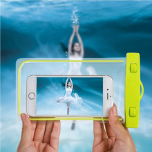 Buy 100% Sealed Waterproof Bag Case Pouch Luminous Phone cases iPhone 6s Plus/5S 5C 5 4S Samsung Galaxy S6/S5/S4 Samsung Note 5 for $2.40 in AliExpress store