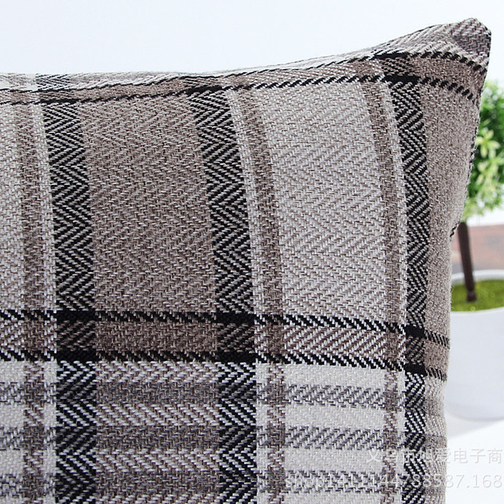High Qaulity New Fashion Lattice Sofa Bed Home Decor Pillow Case Cushion Cover Freeshipping 2 2