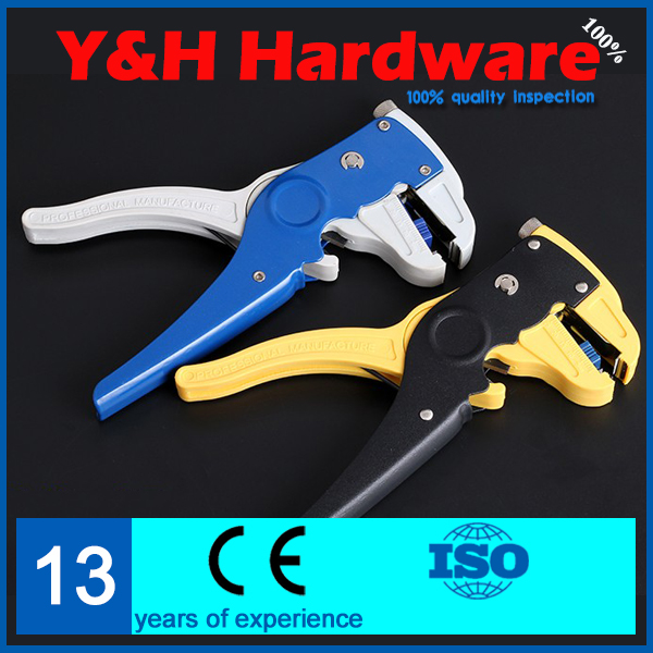 "Self-Adjustable 7"" Multi-function Wire Cable Cutter Stripper Stripping Plier Tool Single & Multiple 0.5~6mm2(China (Mainland))"