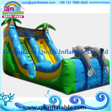 Big water slides commercial inflatable slide inflatable slip and slide(China (Mainland))