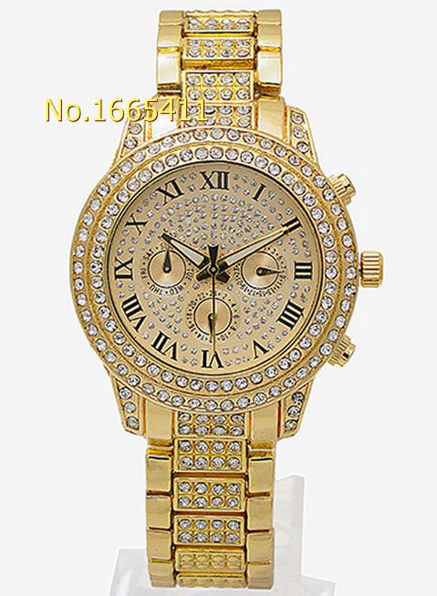 2015 Hot Sales Top Fashion Brand Luxury Watch Women Watches Rose Gold Casual Women Dress Quartz