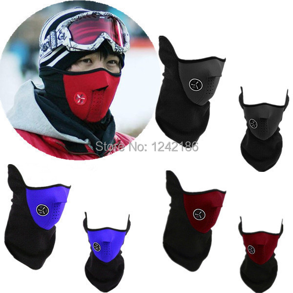 Thermal Neck Warmers Fleece Balaclavas CS Hat Headgear Winter Ski Masks Ear Windproof Warm Face Mask