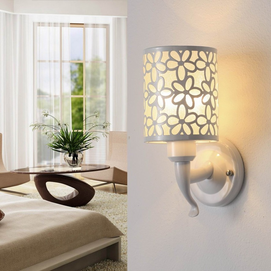 Wall Lamp Shades For Bedroom : Modern Fashional Househoud Style Wall Lamp With 1 Shade,Wholesale Price Wall Light For Bedroom ...