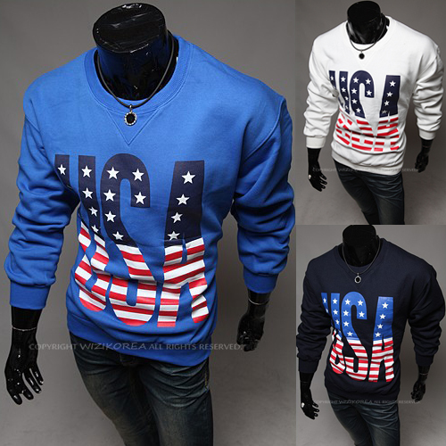 2015 New design spring Winter Long sleeve hoodies Slim mens Casual letter o-neck dress PW65 - Be Top Trading Co,.Ltd store
