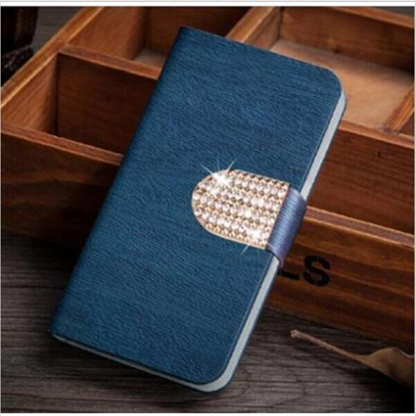 wooden pattern cover phone case for black berry Z30 blackberry Z30 phone bag case with diamonds(China (Mainland))