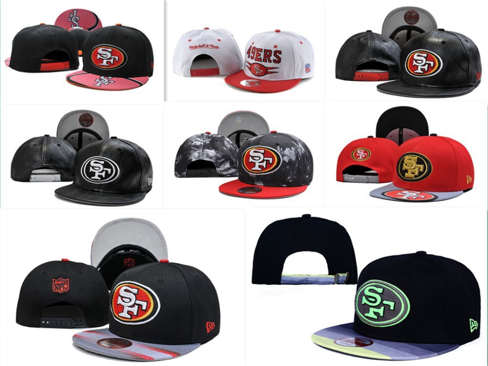 Z-1 Free fast shipping Best Quality 30 Style San Francisco 49ers Snapbacks SF 49ers Cap HATS(China (Mainland))