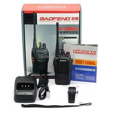 Free Shipping Baofeng BF-888S Walkie Talkie Handheld Portable Radio Two way Radio Interphone 400-470MHz 16 Storage Channel