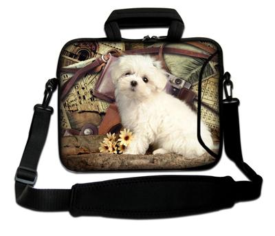 "Novel Animal Design Laptop Sleeve Bags Portable Notebook Computer Tote Bag Case 12"" 13.3"" 14"" 15.6"" 17"" Shoulder bag(China (Mainland))"