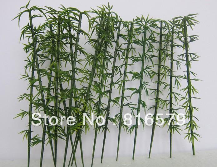 Архитектурный масштаб модели дерева ,бамбука в масштабе 10см