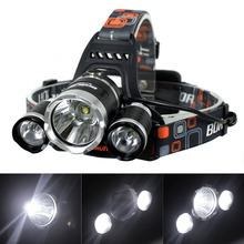 T6 LED Headlamp Headlight with Charger Rechargeable(China (Mainland))