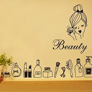 31 stickers muraux stickers muraux salle de bains miroir pte de - Tapie Salle De Bain Aliexpress
