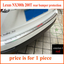 Buy LEXUS NX300h 200T NX rear door sill, rear bumper protector sill,protecting plate,stainless steel,four choices,free for $53.10 in AliExpress store
