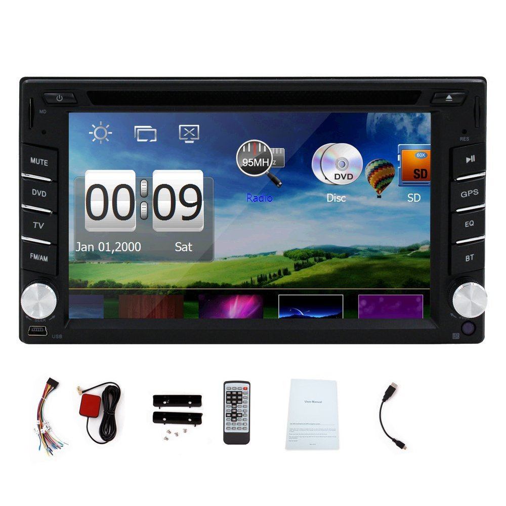 8GB Map Card Win6 Car GPS Navigation Touchscreen Car Stereo Bluetooth FM/AM MP3/MP4 Car DVD Player(China (Mainland))