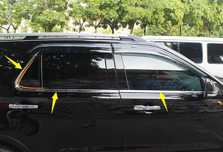 Хромовые накладки для авто High Flying 6 Ford Explorer 2011/2015 авто бу ford trnzit