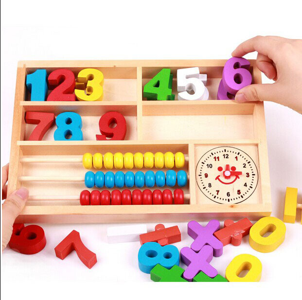 Math Toys For Kids : Hot wood toys for children educational montessori