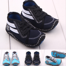 1 Pairs Brand New Baby Shoes patchwork Fashion Sneakers Newborn boys Shoe 2 colors(China (Mainland))