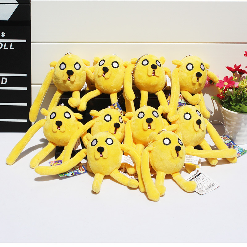 Adventure time Plush Toys Jake Finn Beemo BMO Penguin Ice king Cell Phone Strap Stuffed Soft Doll Free Shipping<br><br>Aliexpress