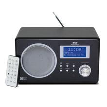 FM DAB/DAB+ Radio Tuner LCD Display Snooze Alarm Clock Player Bluetooth Speaker