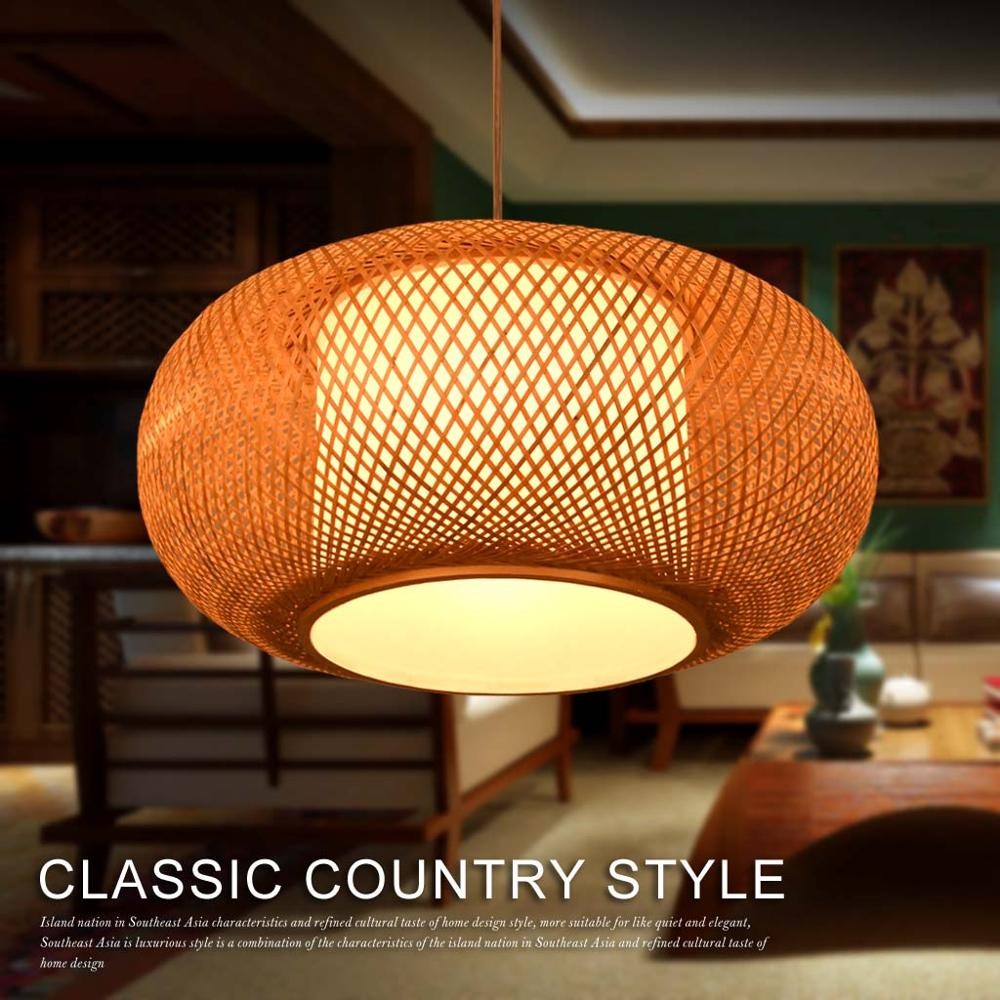 Hoge kwaliteit groothandel bamboe hanglampen van chinese bamboe ...