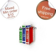 Buy Free floating charms,Books charms,love read charms glass locket 30mm ) for $1.42 in AliExpress store
