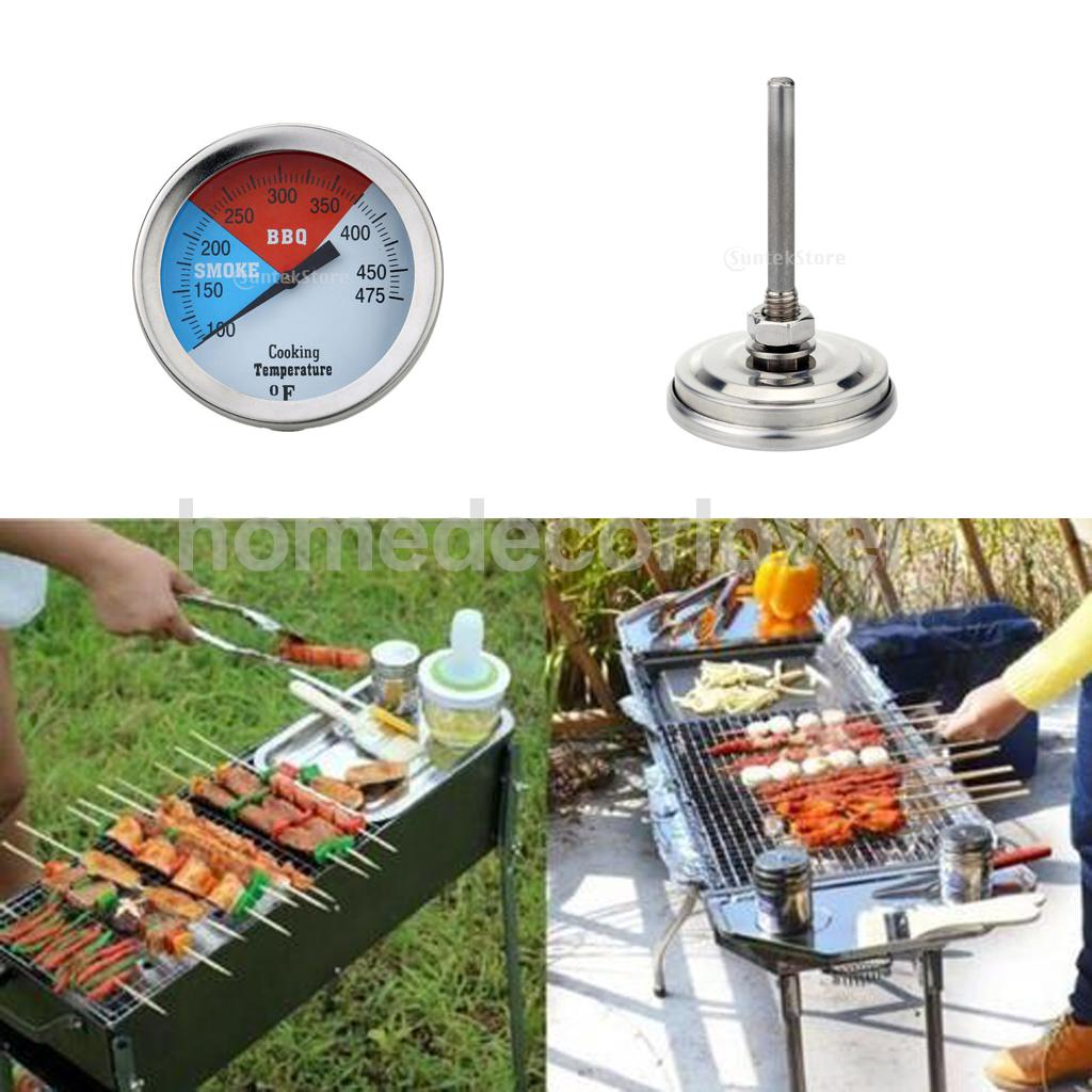 Stainless Steel Oven Kitchen Tool Thermometer Barbecue Grill Cooking Temperature Guage(China (Mainland))