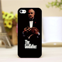 pz0004-29-9 For God father Design Customized cellphone transparent cover cases for iphone 4 5 5c 5s 6 6plus Hard Shell