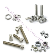 Newest Delta Kossel K800 3D Printer Nuts & Bolts Screw Kit Free Shipping