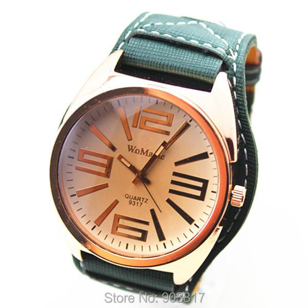 wholesales 30pcs/lot high quality womage pu leather band quartz movement,women/men big face watch,cheap price,quality guarantee<br><br>Aliexpress