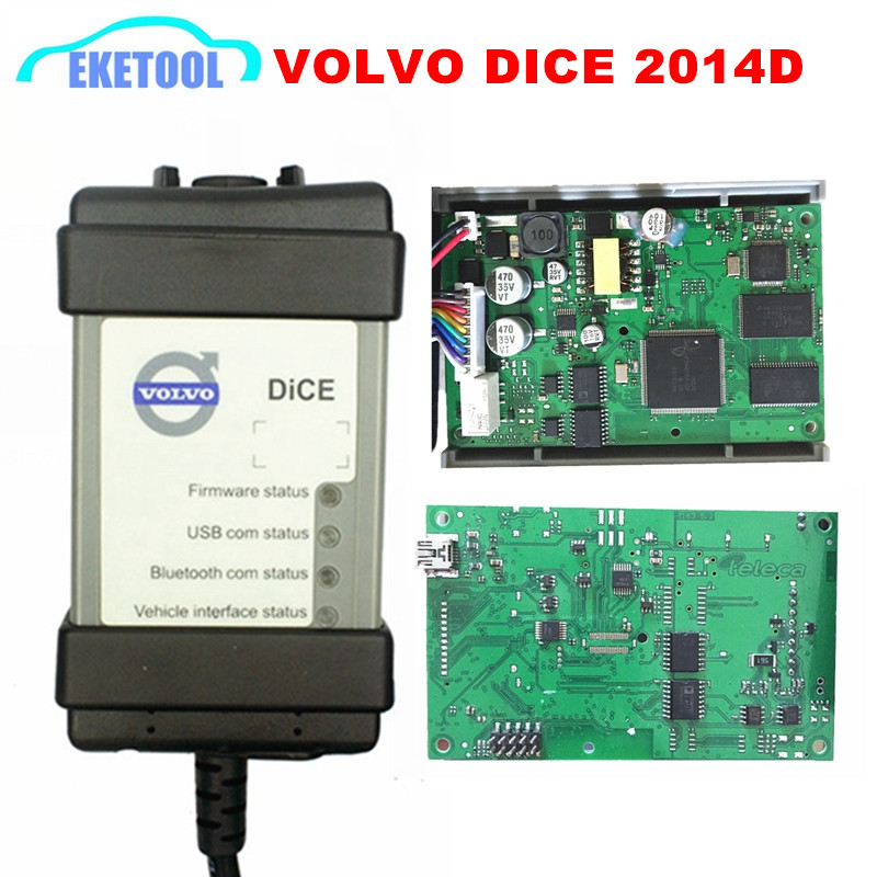 Professional Diagnosis Vida Dice 2014D For Volvo Cars Power Interface For VOLVO VIda Dice Full Chip Firmware Update DHL Free(China (Mainland))