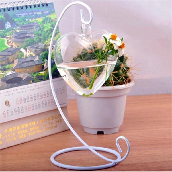 Ваза Brand new  Heart Hanging Glass Vase