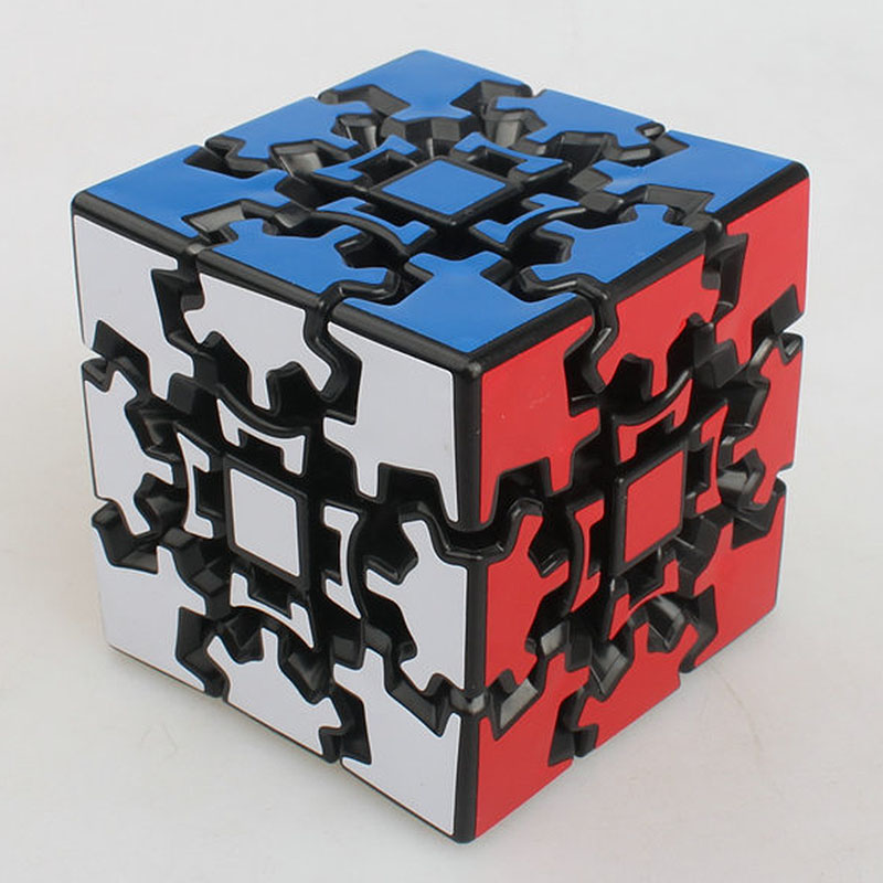 X-cube 60mm 3x3x3 Gear Magic Cube 3D Puzzle Cubes(China (Mainland))