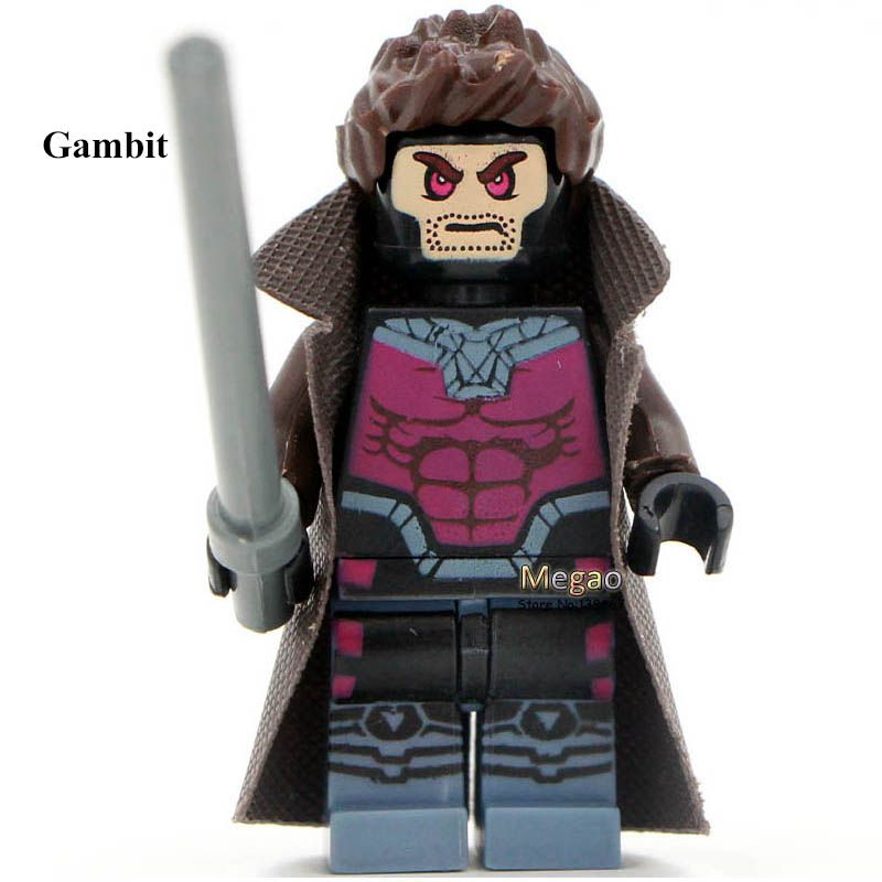 Single Sale 918 White Lantern 908 Gambit High Quality Minifigure Super Hero Classic Figures Collection Children Gift Toys(China (Mainland))