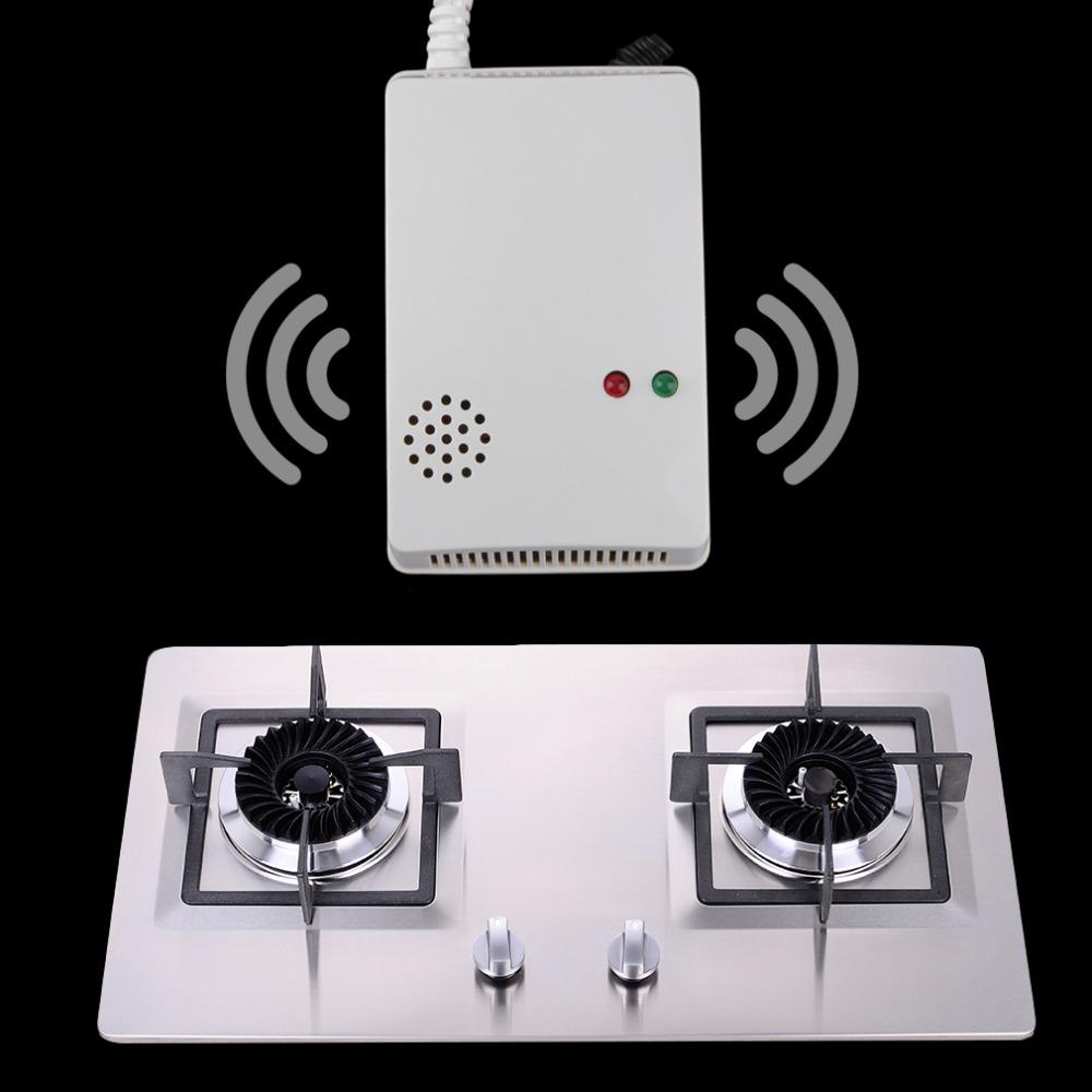 Hot Home Safe Sensor Alarm Natural Gas Propane Butane Methane Leak Detector New