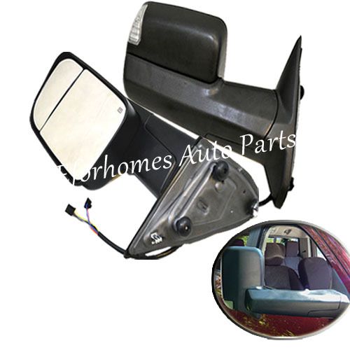 10-12 for Dodge Mirror Power Heated Mirror Towing Signal High Quality Free Shipping(China (Mainland))