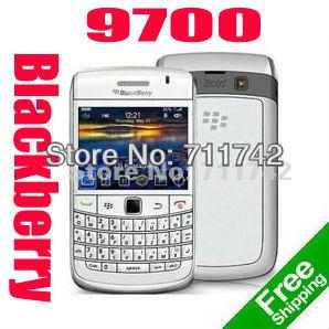 Original Blackberry Bold 9700 black Unlocked refurbished Smar tphone Valid PIN+IMEI 3G Phone(China (Mainland))