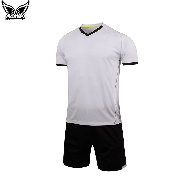 2016 New Soccer Sets Personalized Custom college football jerseys 100% Polyester Short Sleeve soccer jersey Cheap One Piece(China (Mainland))