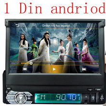 New 1 DIN 12V Andriod Car Radio player MP3 Audio Stereo FM Built in Bluetooth Phone with USB/SD MMC Port Car Electronics In-Dash(China (Mainland))