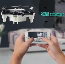 LiDi RC L7W 2.4G 4CH Mini Drone With 0.3MP HD Camera WIFI Real Time Vedio RC Quadcopter